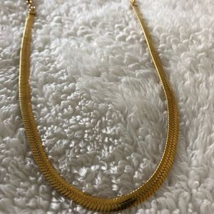 Gold Chain with an adjustable length 18-19 inches